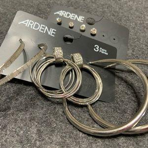 💰 2 For $15  Earrings 5 pair set